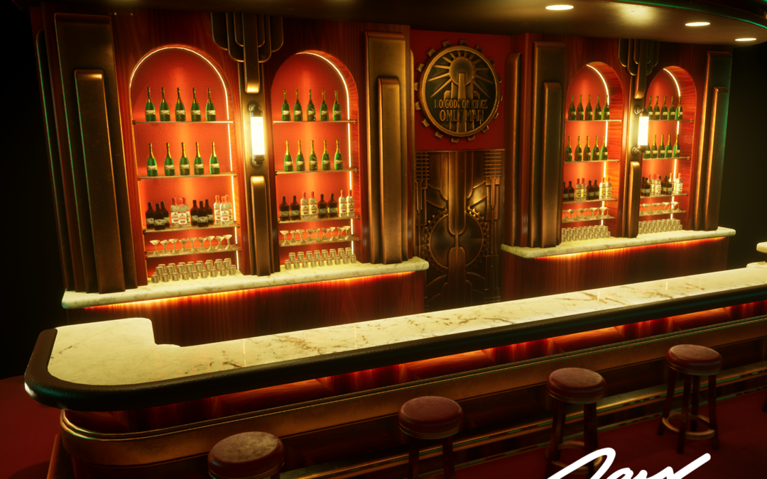 Art Deco Bar – Unreal Engine