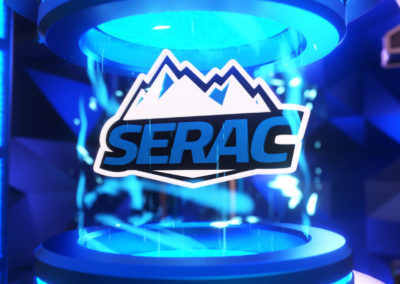 Serac – Motion Graphic Logo Reveal